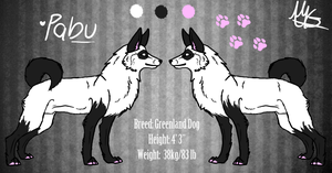 Pabu Reference Sheet by Sharkic-ii