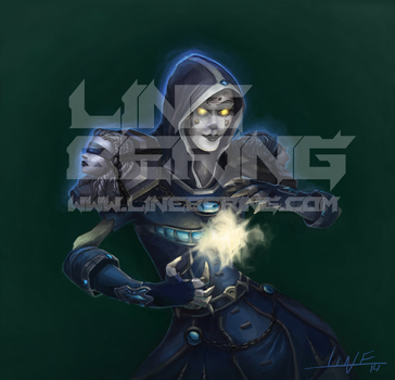 Undead Priest Warcraft by Bering