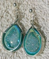 Teal Sparkles by amazonite