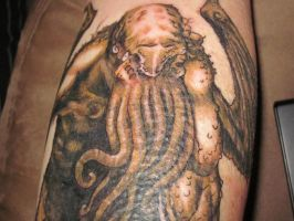 Cthulhu Tattoo 2 by turtle31b