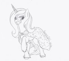 [Point Commission] Mindy Starbright by KyuremGirl