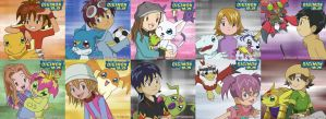 Digimon 2.5 Best Partners by CherrygirlUK19