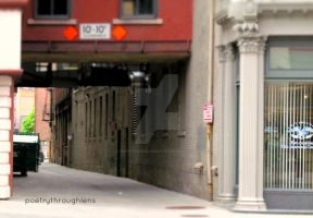 Allyway by POETRYTHROUGHLENS