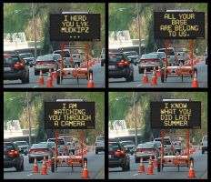 UBER Construction Signs by Finder77