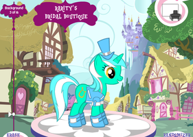 Lyra at the royal wedding by MadCarlovesSonic