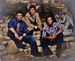 Team Free Will-manip  watercolor filter by Scifiangel