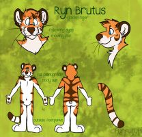 Ryn Brutus fursuit plan paper by Grion