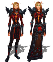 Guild Uniform Idea - Warlock Female by Ammeg88