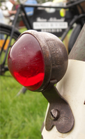 Cycle reflector with patina by edgarbeat