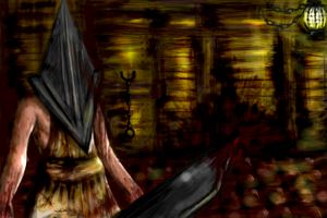 Pyramid Head by Sakimori