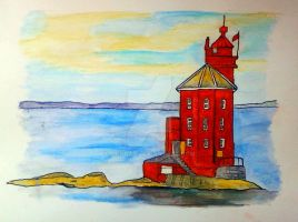 Lighthouse Norway by Sikorax