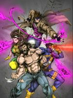 de-X-MEN COLORS by CThompsonArt
