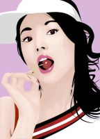 Song Hye Gyo Vector by mintycrinty