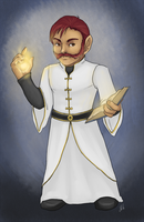 WoW - Marton Gnome priest by jess-o