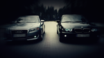 BMW vs Audi by EmeSso