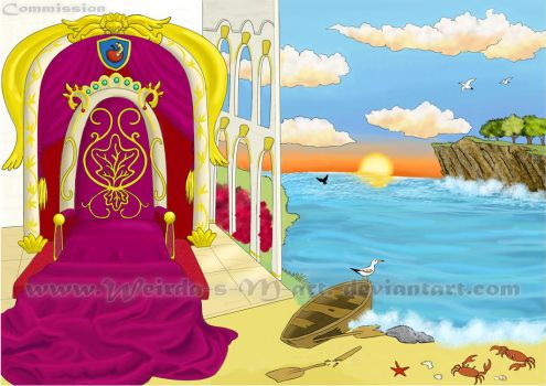 Bg for The Tale of the Fisherman and the Fish 4 by Weirda-s-M-art