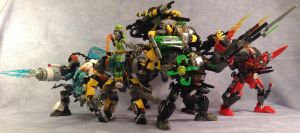 Hero Factory IFB wave 1 Hero Mechs by MrBoltTron