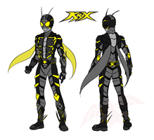New Original Kamen Rider : KRIX by TakarinaTLD93