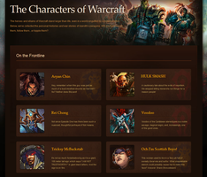 Characters of Warcraft screenshot by Thinston