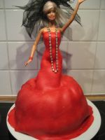 Barbie cake by Cantuccini