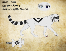 Kala Reference Sheet by DivineNymph