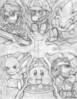 SSBB poster Ver2 (WiP) by ParadoxWulf