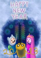 Happy New Year 2013 by A-HUO