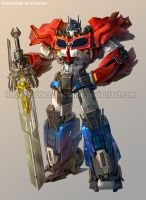 TFP 3 Optimus prime by GoddessMechanic