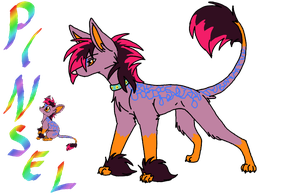 Pinsel pup and adult by Ninchiru