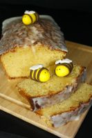 Lemon and Honey Loaf by behindthesofa
