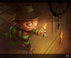 Little Freddy by Okmer