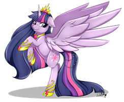 Princess Twilight Sparkle by Pillonchou