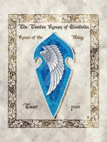 Middle-earth heraldry: Tuor (Wing) by Aglargon