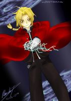FMA - Edward Elric by talespirit