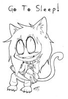Chibi Neko Jeff The Killer! :3 by ShannonxNaruto
