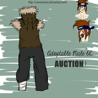 Naruto Adoptable Male OC! (AUCTION - CLOSED) by ConnieMeow