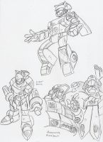 TF: Character Studies 2 by BlueIke
