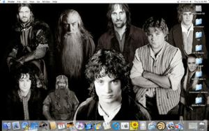LOTR Fellowship Desktop by ThreeRingCinema