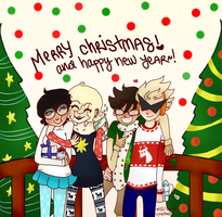 merry christmas! from the alphas by Lynx-AwesomeAsToast