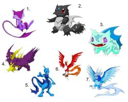 New style of pokemon by Rubydragoon4444