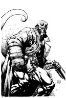 Dave Finch Hellboy by Frisbeegod