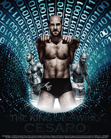 The King Of Swing Cesaro by thetrans4med