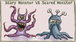 Scary Monsters vs Scared Monsters by Princess-Suki-W