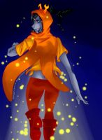 Vriska-Wish me luck by Goldarcanine