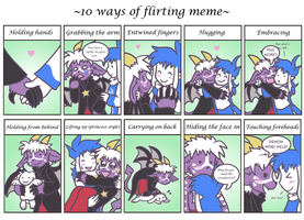 10 Goofy Ways of Flirting by raizy