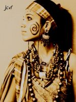 african girl by jcvf