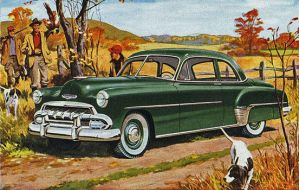 age of chrome and fins: 1952  Chevrolet by Peterhoff3