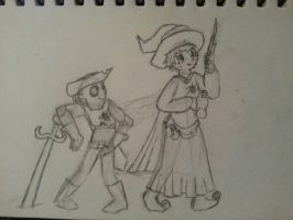 The Witch and The Adventurer by Drakeven