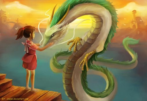 Spirited Away by JowieLimArt