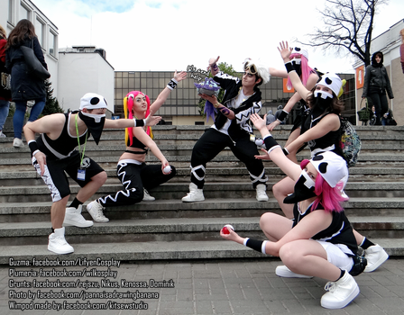 Team Skull, Guzma and Wimpod - Pokemon Cosplay by Lifyen
